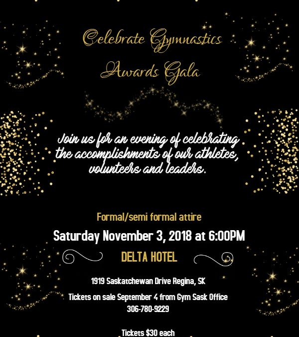 2018 Celebrate Gymnastics Awards Gala