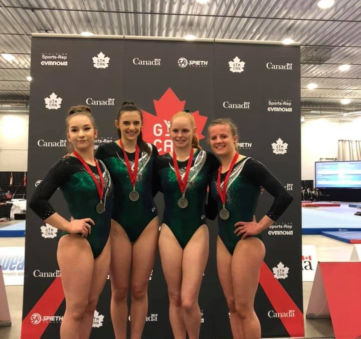 2019 Artistic Canadian Championships Results