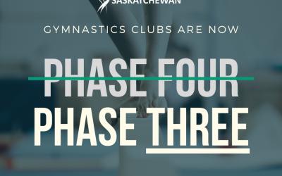 Gymnastics – Phase Three