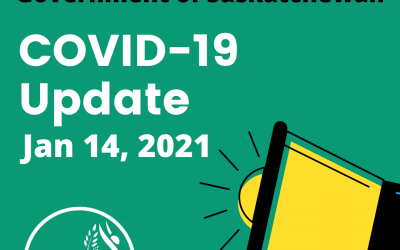 Government of Sask Updates & Information – Jan 14, 2021